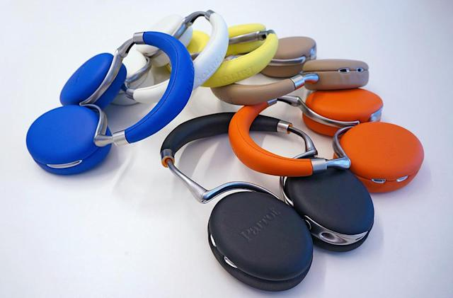 Parrot brings big color and big comfort to its touch-controlled headphones