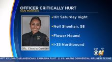 Police officer hit by suspected drunk driver FaceTimes chief from hospital to say 'she will be back'