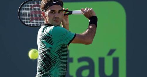 Tennis - ATP - Miami - Roger Federer a «gardé confiance» en ses coups contre Kyrgios