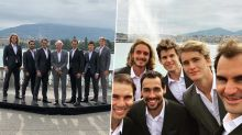 Roger Federer and Rafael Nadal Post Lovely Group Photos With Team Europe Members Ahead of Laver Cup 2019