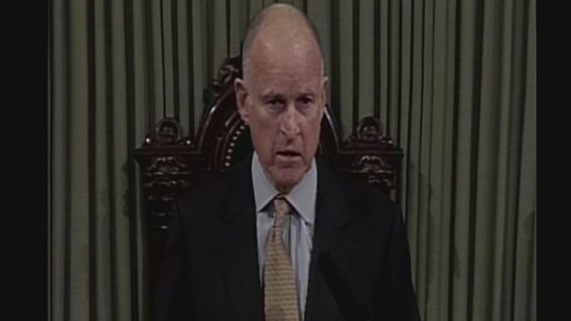 Governor Brown delivers 'State of the State'