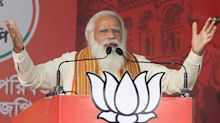 Narendra Modi: Covid resurgence in India like being 'hit by a storm'