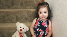 Toddler's 'Disney princess eyes' due to rare genetic condition
