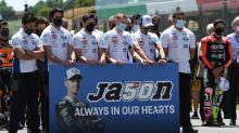 Moto3 rider Dupasquier dies after crash