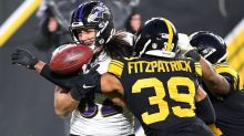Ravens not happy with Steelers' delay tactics before halftime