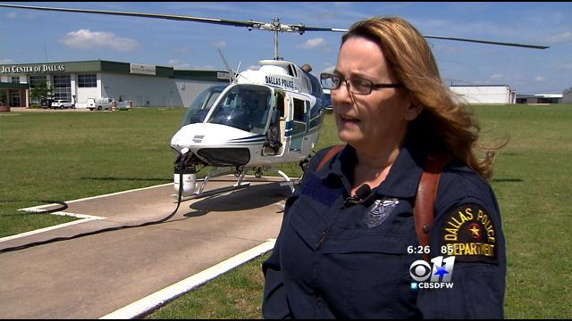 1st Female DPD Helicopter Pilot Fly's Into History