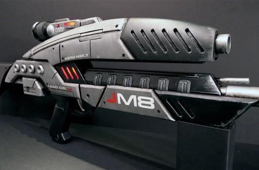Mass Effect's M8 Avenger rifle brought to exquisitely detailed life