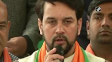 Delhi polls: Shaheen Bagh protests will vanish by Feb 11, says Anurag Thakur