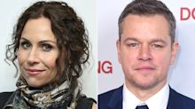 Minnie Driver Rationalizes Matt Damon's Sexual Harassment Remarks: He's a 'Nice White Male'