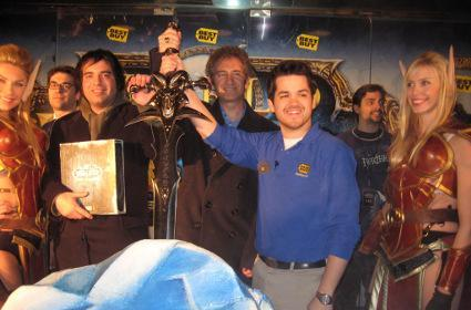 Midnight launch parties herald the Lich King's wrath
