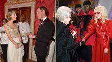 Diese Looks trugen Promis bei Treffen mit den britischen Royals