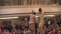 Dance performance turns into surprise marriage proposal!
