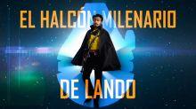 """Un """"joven"""" Lando nos muestra el Halcón Milenario por dentro"""