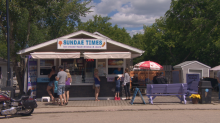 Cool weather melts away business for Sask. ice cream stand