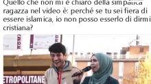 """""""Fiera di essere musulmana"""" e Meloni replica alla Sardina"""