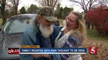 Daughter reunites with her father after believing he was dead for 26 years