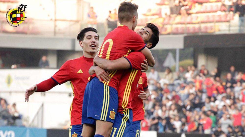 Denis Suárez también pierde su sitio en la Sub-21