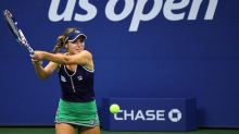 Sofia Kenin knocked out of US Open fourth round after straight sets defeat to Elise Mertens