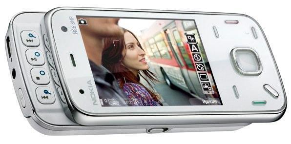 Nokia's N86 makes its 8 megapixel debut