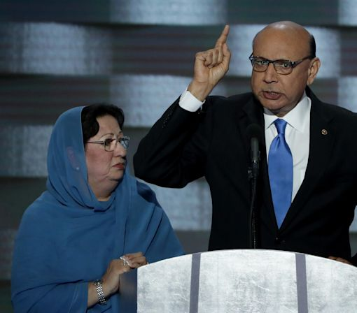 Father of Fallen Muslim Soldier Calls on GOP Leaders to 'Repudiate' Donald Trump