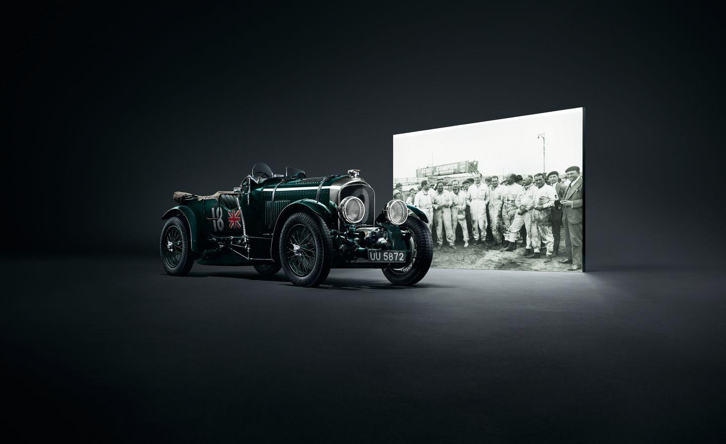 "<p>As you might expect, the Bentley centenary theme extends into the rest of the lineup. It's observed officially on July 10, 2019, and every Bentley car produced in the 2019 model year will feature specially created badges with the ""B"" re-created in gold on the wheel hood, trunk, and wheel centers; the hood and trunk badges will also include ""1919 to 2019"" lettering. The gold treatment extends to the key fob, steering-wheel button, and gear selector.</p>"