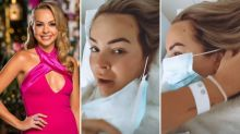 Bachelorette's Angie Kent in hospital for endometriosis surgery
