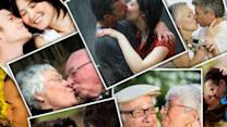 Kissing evolved to help humans choose mates, study says