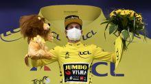 Primoz Roglic takes yellow jersey as Adam Yates reaches his limit