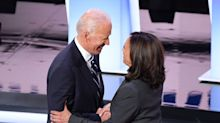 Tense and teasing online moments lead up to Joe Biden's announcement on Kamala Harris