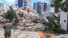 Vídeo mostra momento exato em que prédio desabou em Fortaleza; assista