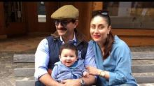Taimur Ali Khan strikes a cute pose with Saifeena
