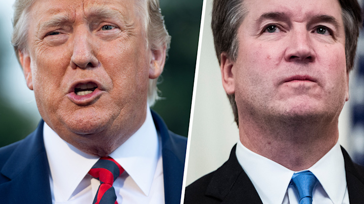 Trump defends Kavanaugh against new accusations