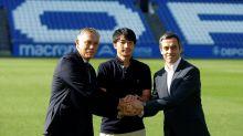 Shibasaki niega que su seleccionador influyera en su salida del Deportivo