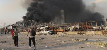 Massive explosion rocks Beirut, dozens killed