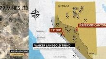 Gold79 Outlines a Large Gold-in-Soil Anomaly at its Tip Top Project, Nevada