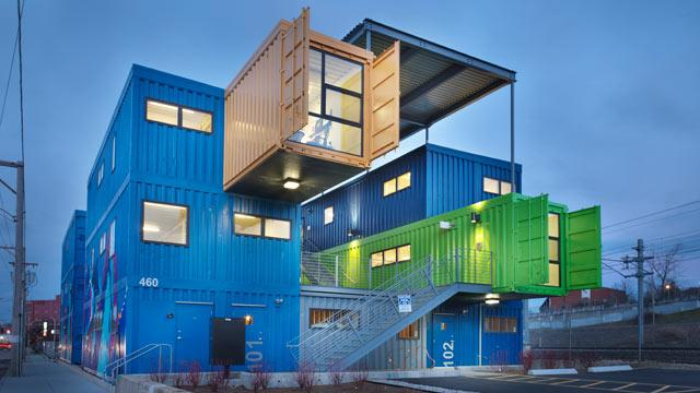Shipping Containers to Become Condos in Detroit
