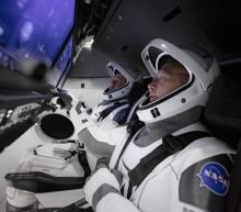"""""""It's tremendously exciting"""": Astronauts count down to historic launch"""