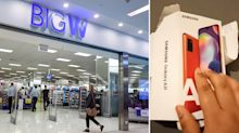 Big W customer's shocking find after buying new Samsung phone