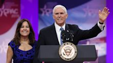 Thousands protest Mike Pence's commencement speech at Christian college: 'It's divisive and dangerous'