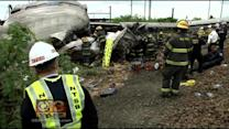 Amtrak CEO Testifies; NTSB Preliminary Report Released On Crash