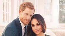 Las fotos oficiales del príncipe Harry y Meghan Markle