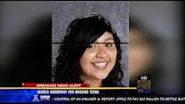 Search underway for 2 missing teens