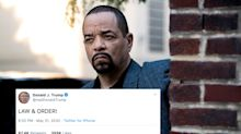Ice-T Responds To Trump's 'Law & Order' Tweet Exactly How You'd Expect