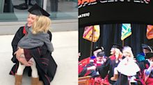 This 22-year-old single mother says she couldn't have graduated without her 2-year-old daughter