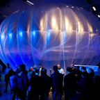 Google internet balloons sent into the air in Kenya to provide 4G from the sky