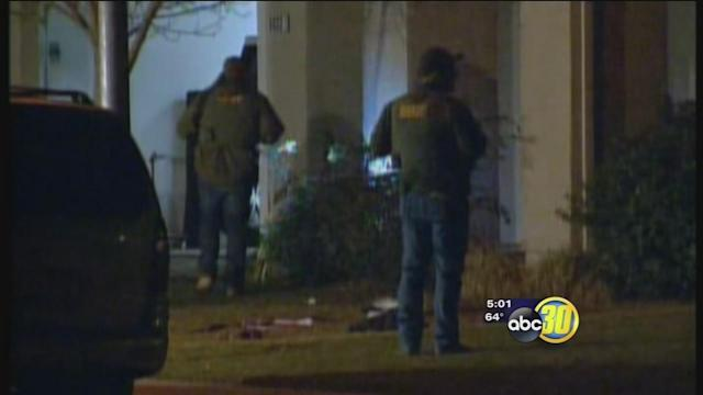 Father and son shot in Winton, son dies