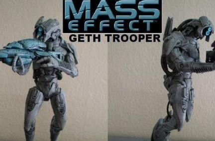You'll never geth how this Mass Effect action figure was made