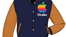Drake Wore a Vintage Apple Varsity Jacket That He Got on the Internet