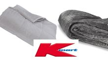 Kmart's $49 dupe of popular $299 weighted blanket sends shoppers wild