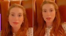 """Marina Ruy Barbosa sobre quarentena: """"Estou bem agoniada"""""""